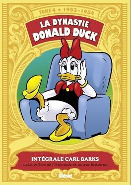 Couverture du livre : La Dynastie Donald Duck, Tome 4 : Les mystères de l'Atlantide et autres histoires
