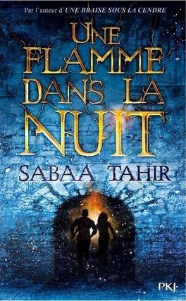 Couverture du livre : Une flamme dans la nuit