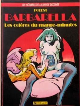 Couverture du livre : Barbarella, les colères du mange-minutes (BD)