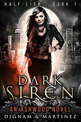 Couverture du livre : Half-Lich, Tome 1 : Dark Siren
