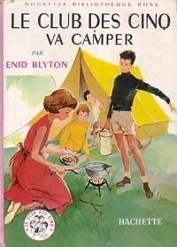 Couverture du livre : Le club des Cinq va camper