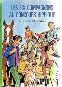 Couverture du livre : Les six compagnons au concours hippique