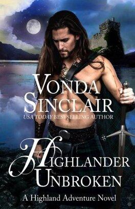 Couverture du livre : Aventuriers des Highlands, Tome 8 : Highlander Unbroken