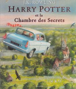 Couverture du livre : Harry Potter, Tome 2 : Harry Potter et la Chambre des Secrets (Illustré)