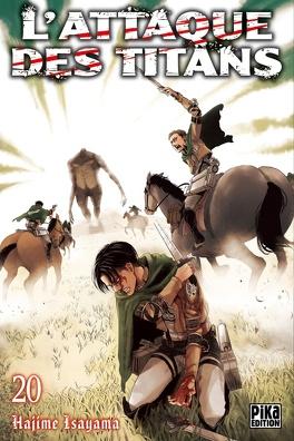 Couverture du livre : L'Attaque des Titans, Tome 20