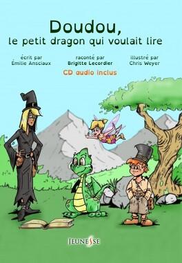Couverture du livre : Doudou, le petit dragon qui voulait lire