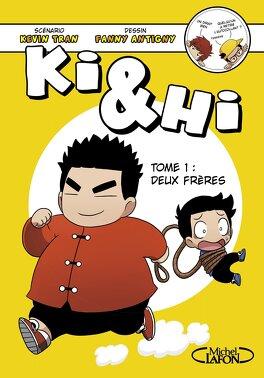 Couverture du livre : Ki & Hi, tome 1 : Deux frères