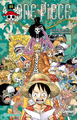 Couverture du livre : One Piece, Tome 81 : À la rencontre de maître Chavipère