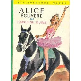 Couverture du livre : Alice écuyère