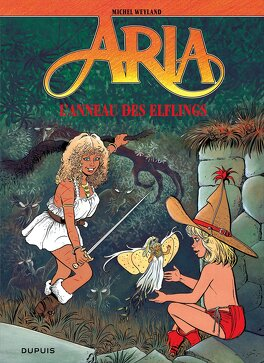 Couverture du livre : Aria, Tome 6 : L'Anneau des Elflings