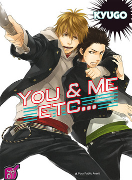 Couverture du livre : You and Me Etc...