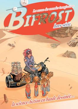 Couverture du livre : Bifrost HS : la science-fiction en bande dessinée (2016)