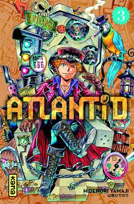 Couverture du livre : Atlantid, Tome 3