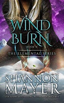 Couverture du livre : Elemental, Tome 4 : Wind Burn