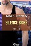 couverture KGI, Tome 9 : Silence brisé