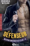 couverture Reapers Motorcycle Club, Tome 4 : Défenseur