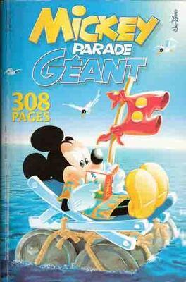 Mickey Parade Geant N 268 Carton Rouge Livre De Collectif