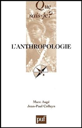 Couverture du livre : L'anthropologie