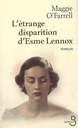 Couverture du livre : L'Étrange Disparition d'Esme Lennox