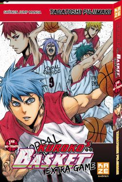 Couverture de Kuroko's Basket Extra Game, Tome 1