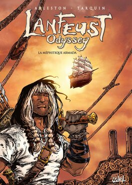 Couverture du livre : Lanfeust Odyssey, Tome 7 : La Méphitique Armada