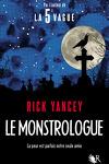 couverture Le Monstrologue, tome 1