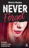 Never Tear Us Apart, Tome 1 : Never Forget