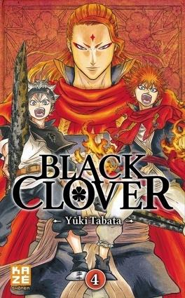 Couverture du livre : Black Clover, Tome 4
