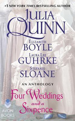 Couverture du livre : Four Weddings and a Sixpence - Anthologie