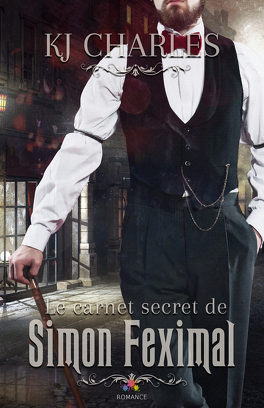 Couverture du livre : Le carnet secret de Simon Feximal, Tome 1 : The Caldwell Ghost