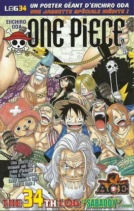 Couverture du livre : One Piece: The Thirty-Fourth Log
