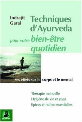 Couverture du livre : Techniques d'Ayurveda pour votre bien-être quotidien