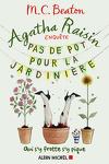 couverture Agatha Raisin enquête, Tome 3 : Pas de pot pour la jardinière