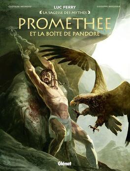 Couverture du livre : Prométhée et la boîte de Pandore
