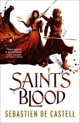 Couverture du livre : Les Manteaux de gloire, Tome 3 : Saint's Blood