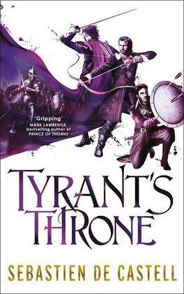 Couverture du livre : Les Manteaux de gloire, Tome 4 : Tyrant's Throne