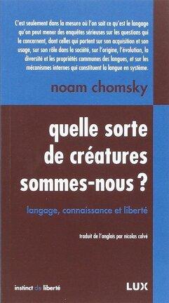 Couverture du livre : Quelle sorte de créatures sommes-nous?
