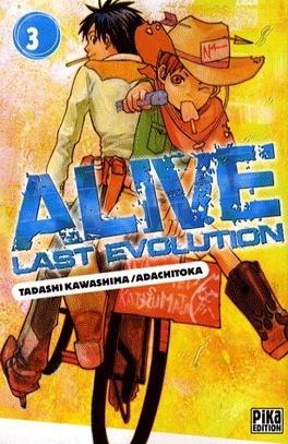 Couverture du livre : Alive Last Evolution, Tome 3