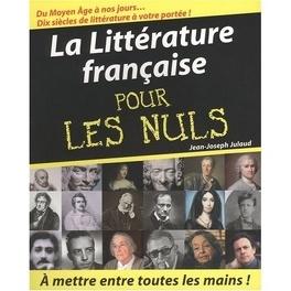 Couverture du livre : La littérature française pour les nuls