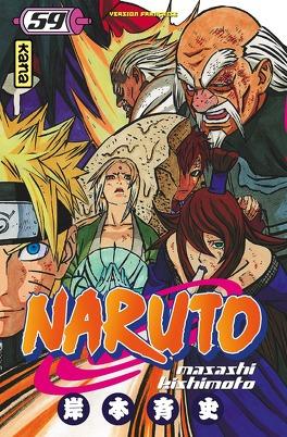 Couverture du livre : Naruto, Tome 59 : L'Assemblée des cinq Kage… !!