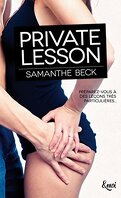 Private Pleasures, Tome 1 : Private Lesson