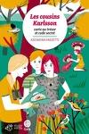 couverture Les cousins Karlsson, Tome 7 : Carte au trésor et code secret