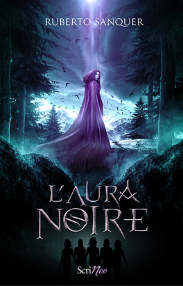 Couverture du livre : Terre Arcane, tome 1 : L'aura noire