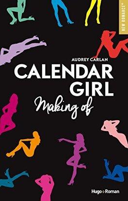 Couverture du livre : Calendar Girl, Making of