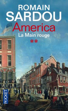 Couverture du livre : America, Tome 2 : La main rouge