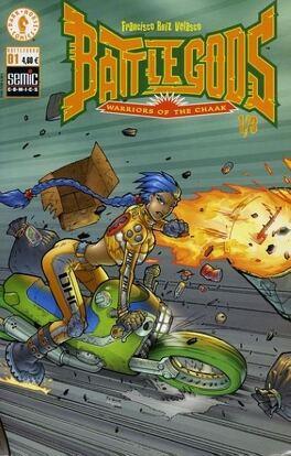 Couverture du livre : Battlegods n°1