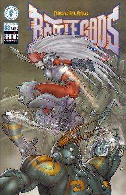 Couverture du livre : Battlegods n°3