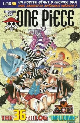 Couverture du livre : One Piece: The Thirty-Sixth Log