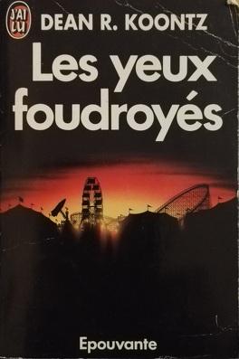Couverture du livre : Les yeux foudroyés