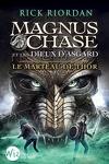 couverture Magnus Chase et les dieux d'Asgard, tome 2 : Le Marteau de Thor